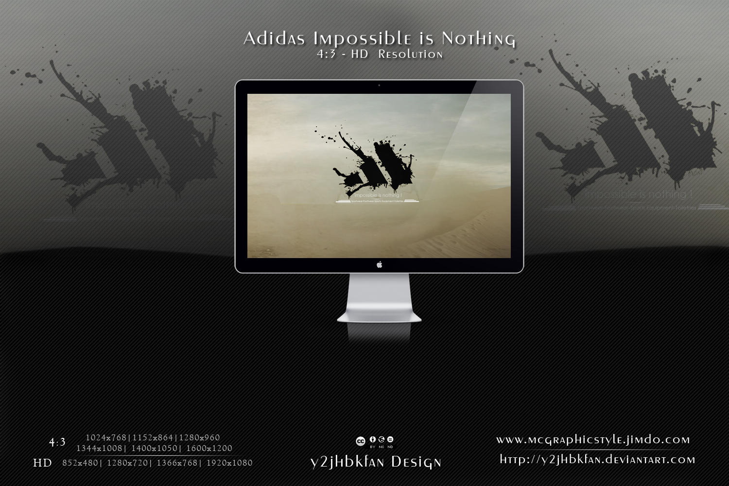 Adidas Impossible is nothing by y2jhbkfan