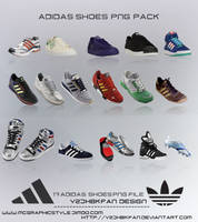 Adidas Shoes Png Pack by y2jhbkfan
