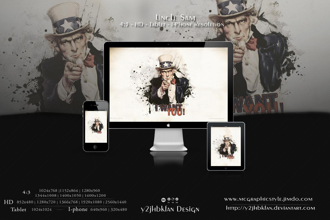 Uncle Sam by y2jhbkfan