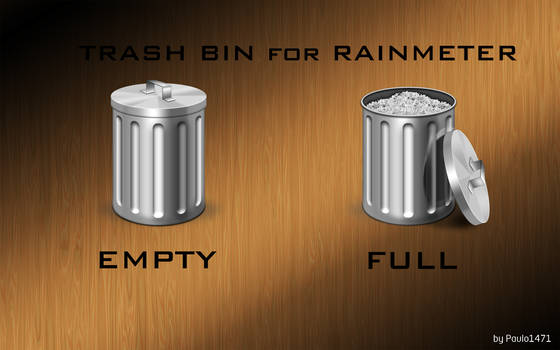Trash Bin for Rainmeter