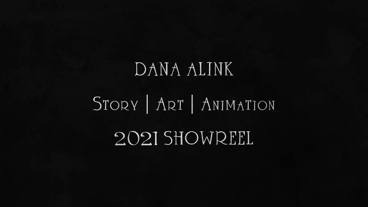 2D Animation Showreel 2021 - Dana Alink