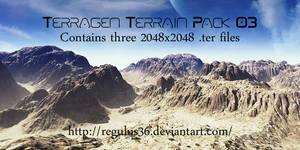 Terragen Terrain Pack 03