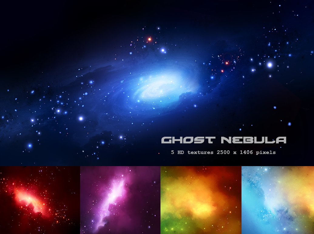 Ghost nebula texture pack