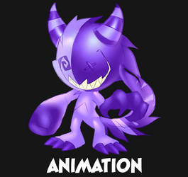 Monster hit animation by Static-ghost