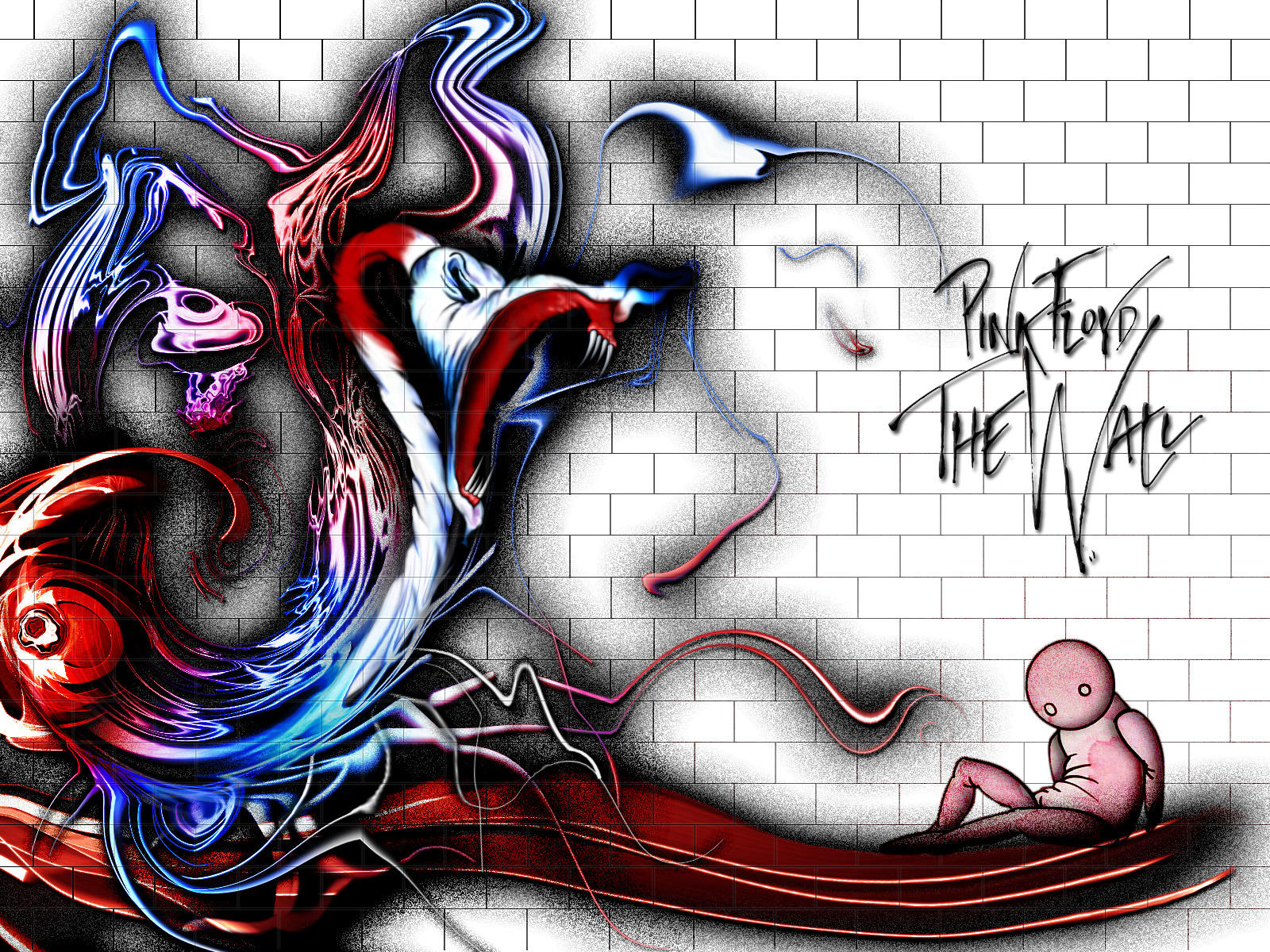 Pink Floyd the Wall Artwork