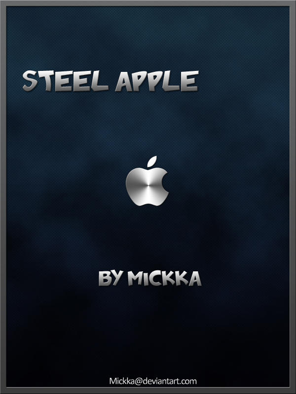 Steel Apple by Mickka