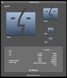 Finder icons v2 by Mickka