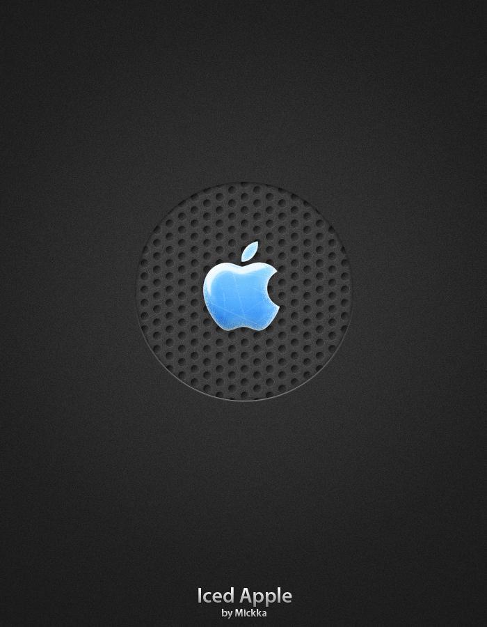 Iced Apple by Mickka