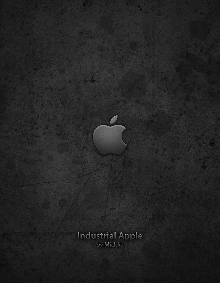 Industrial Apple by Mickka