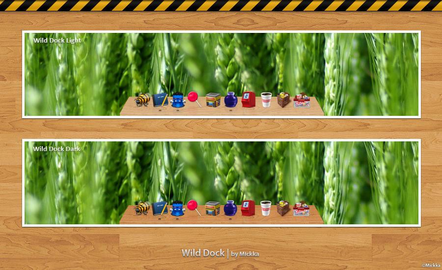 Wild Dock by Mickka