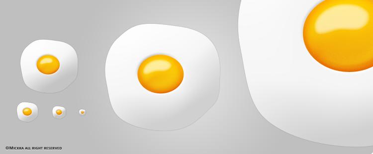 Fried Egg by Mickka