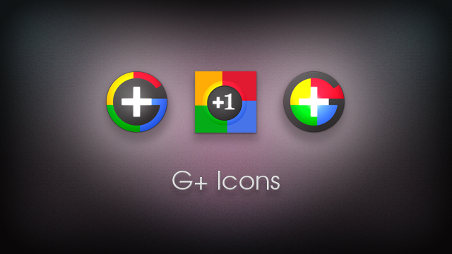 Google Plus Icons by 1A-Design