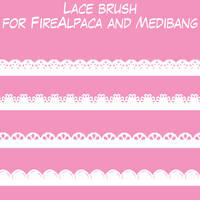 Lace Brush by HermesDiAngelo