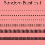 Random brushes 1