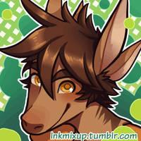 *Reupload* Blinking Kai Commission by InkMixup