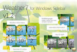 Weather7 v1.2 - Windows gadget