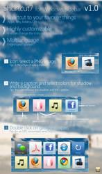 Shortcut7 v1.0 - Win gadget by Franchu