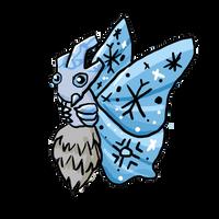Winter Venomoth by DrowsyInsomnia