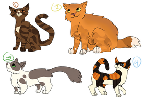 Free? Cat Adopts by DrowsyInsomnia