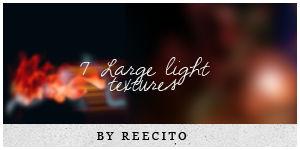 7 LARGE LIGHT TEXTURES