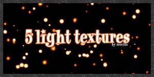 5 light textures