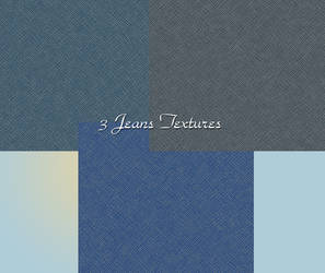 3 Jeans Textures