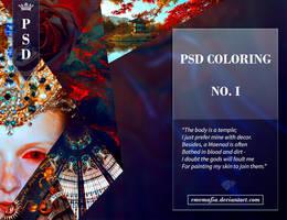 PSD Coloring No.I