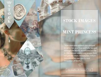 STOCK Images Mint Princess