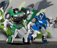 Flash Transformers by GabrielChoquette