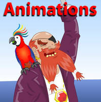 Pirate animations by GabrielChoquette