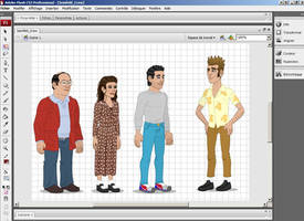 Seinfeld_Crew by GabrielChoquette