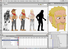 Cowboy animation package by GabrielChoquette