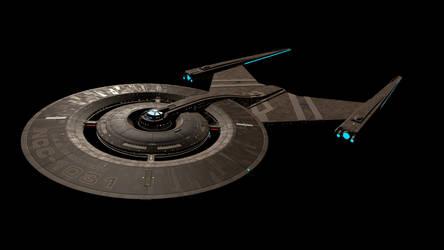 USS Discovery C4D - Standard Materials