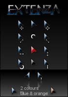 EXTENZA cursors by DanFox