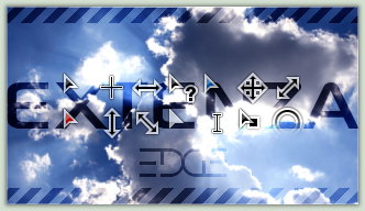 EXTENZA EDGE Cursor Pack by eFOX-hun