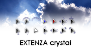 EXTENZA crystal cursors by DanFox