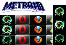 Windows 7 Metroid Start Orb by D347hR107