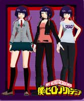 [MMDxBNHA]TDA Kyoka Jirou+DL by BrokenRose06