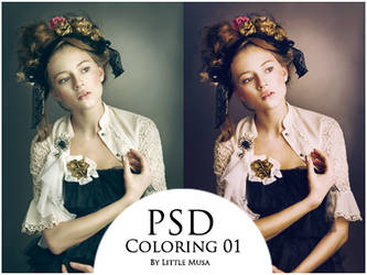 PSD Coloring 01 by LittleMusa