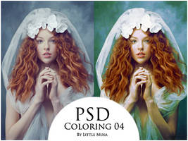 PSD Coloring 04 by LittleMusa