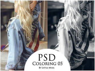 PSD Coloring 05 by LittleMusa