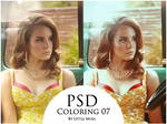 PSD Coloring 07