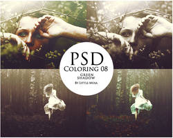 PSD Coloring 08 ~ Green Shadow by LittleMusa