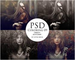 PSD Coloring 09 ~ Sweet Autumn