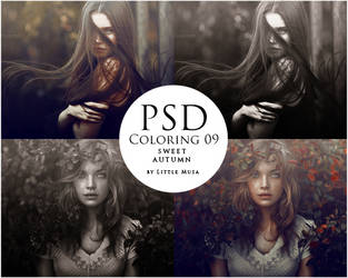 PSD Coloring 09 ~ Sweet Autumn by LittleMusa
