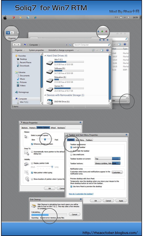 Soliq VS MOD for Windows 7 by rheaoctober