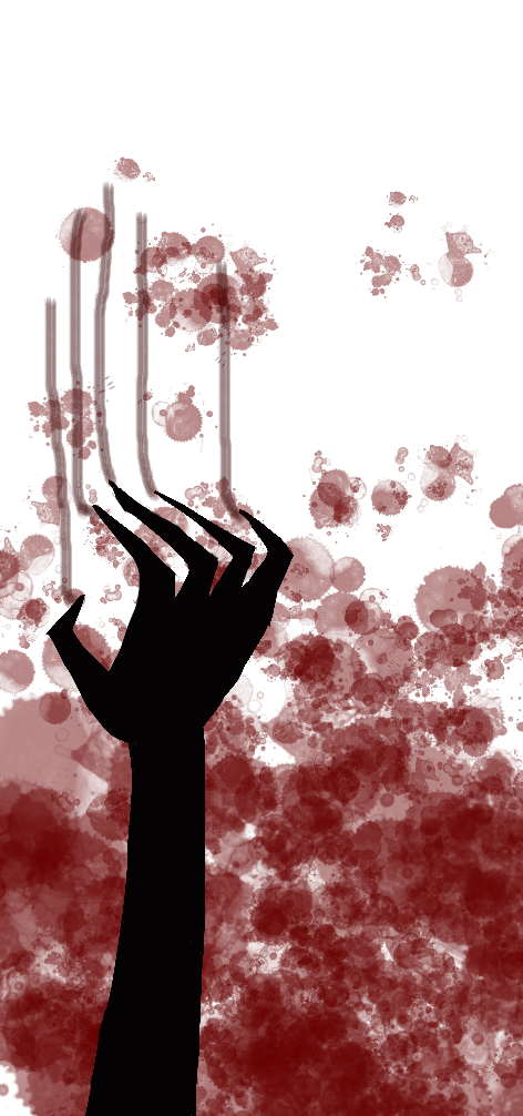 Bloody Hand by TsundereIdiot on DeviantArt