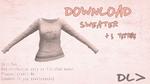 [MMD] Sweater [Doownload]