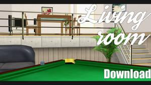 |MMD|Living Room Download