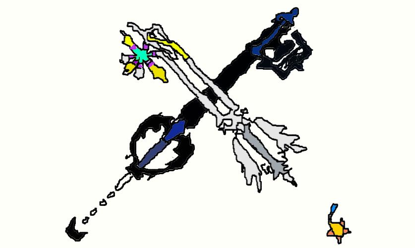 Oathkeeper and Oblivion Keyblades by LightKeybladeMaster ...